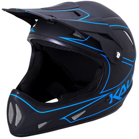 Kali Alpine Casque Homme, matte black/blue